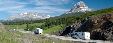 Camping in the Crowsnest Pass